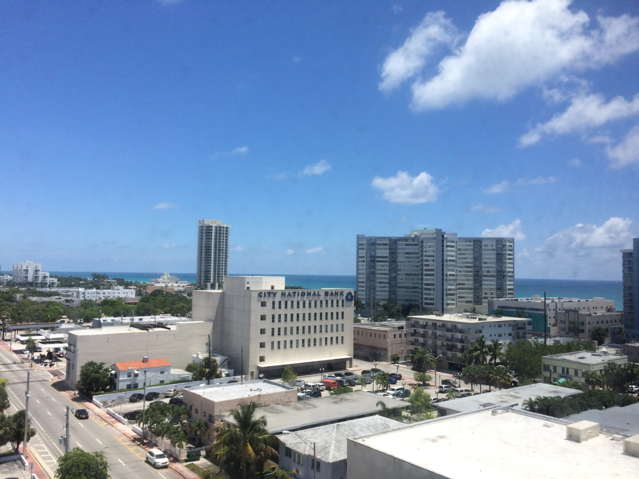 Ocean view from my former Miami Beach apartment.